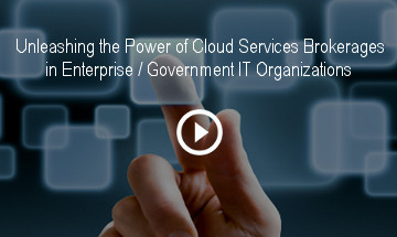 Unleashing the Power of Cloud Services Brokerages in Enterprise / Government IT